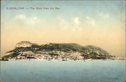The Rock from the Bay Postcard