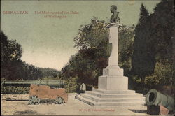 The Monument of the Duke of Wellington in Gibraltar