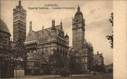 Imperial Institute - London University Postcard
