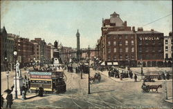 Sackville Street and O'Connell Bridge