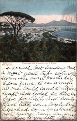 View from Vomero and Saint Elmo Postcard