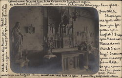 Church Alter, Acocks Green Postcard