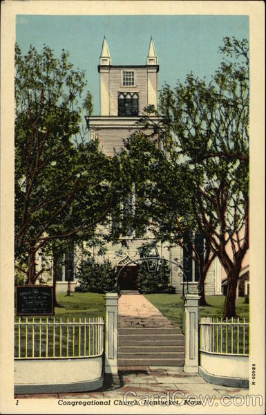Congregational Church Nantucket Massachusetts