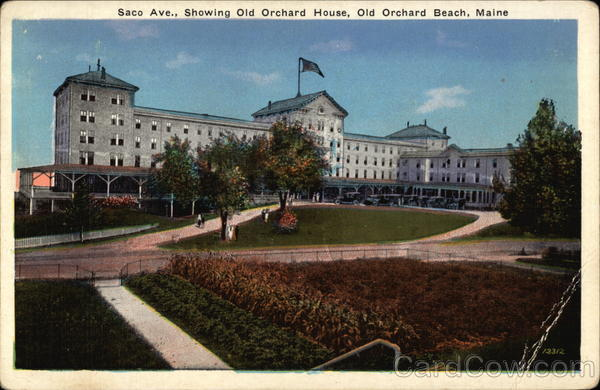 Saco Avenue showing Old Orchard House Old Orchard Beach Maine