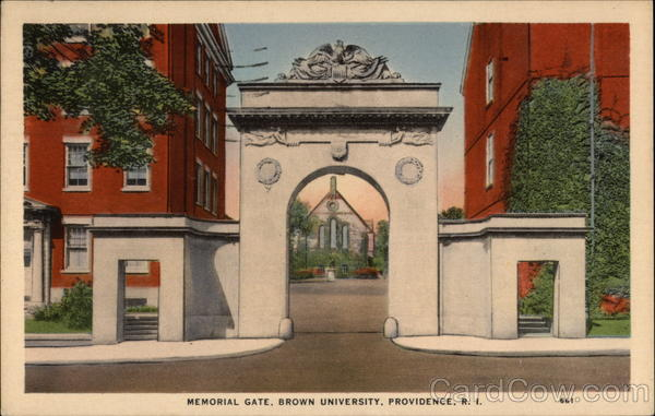 Brown University - Memorial Gate Providence Rhode Island