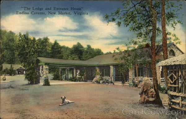 The Lodge and Entrance House, Endless Caverns New Market Virginia