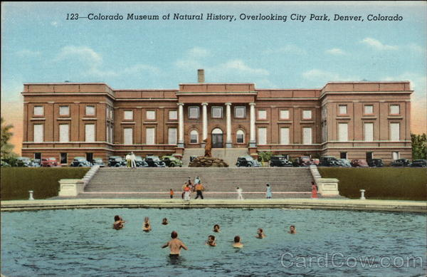 Colorado Museum of Natural History, Overlooking City Park Denver