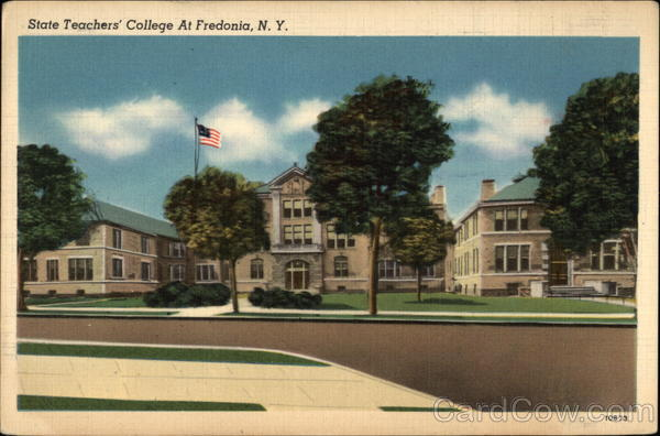 State University Of New York At Fredonia Mail: State Teachers' College Fredonia, NY
