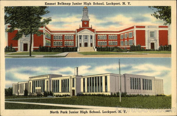 Emmet Belknap Junior High School & North Park Junior High School Lockport New York
