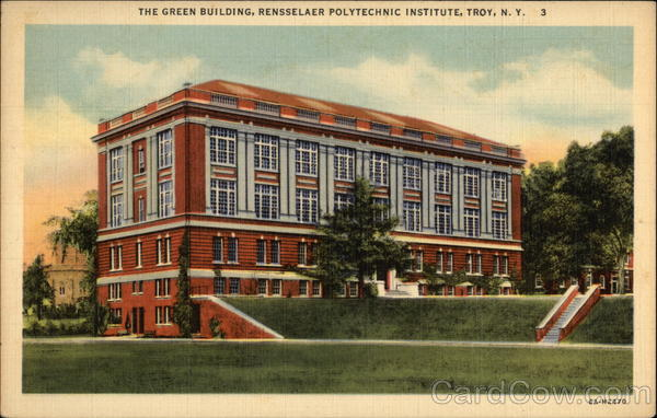 Rensselaer Polytechnic Institute - The Green Building Troy New York