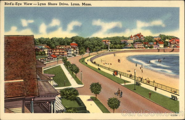 Bird's-Eye View, Lynn Shore Drive Massachusetts