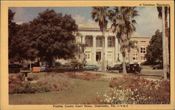 Pinellas County Court House Clearwater Florida