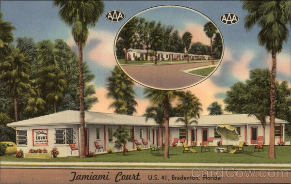 Tamiami Tourist Court Bradenton Florida
