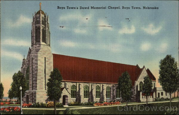 Boys Town's Dowd Memorial Chapel Nebraska
