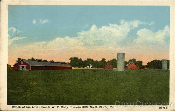 Ranch of the Late Colonel W.F. Cody (Buffalo Bill) North Platte Nebraska