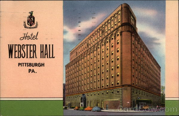 Hotel Webster Hall Pittsburgh Pennsylvania