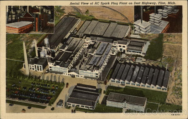 AC Spark Plug Plant on Dort Highway Flint Michigan