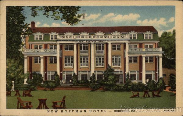 new hoffman hotel bedford pa. Black Bedroom Furniture Sets. Home Design Ideas