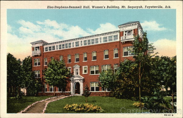 Eliza-Stephens-Remmell Hall, Women's Building, Mt. Sequoyah Fayetteville Arkansas