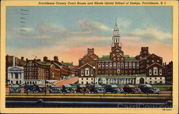 Providence County Court House & Rhode Island School of Design