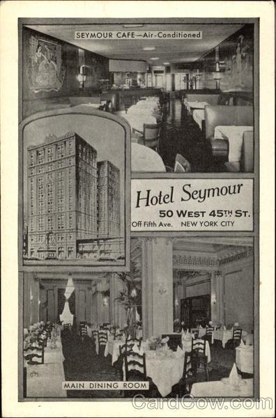 Hotel Seymour New York City Ny