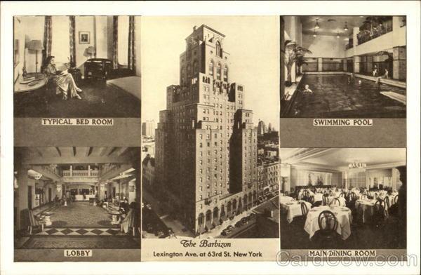 The Barbizon Hotel New York  Ny