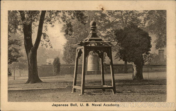 U.S. Naval Academy - Japanese Bell Annapolis Maryland