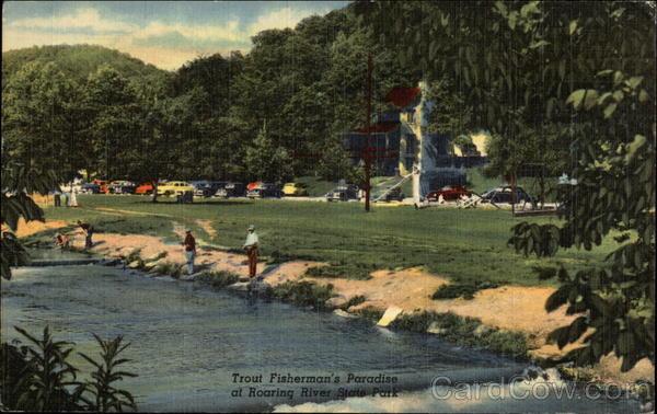 Trout Fisherman's Paradise at Roaring River State Park Cassville Missouri