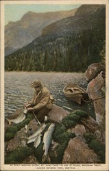 An Early Morning Catch, St. Mary Lake