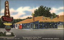 La Cita Restaurant and Curio Shop Postcard