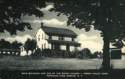 Main Building and One of the Ranch Houses - Green Valley Farm, Tennanah Lake