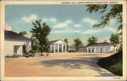 Georgia Hall, Warm Springs Foundation