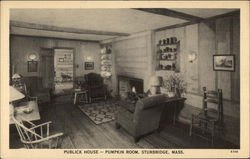 Publick House-Pumpkin Room Postcard