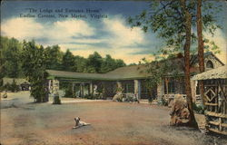 """The Lodge and Entrance House"", Endless Caverns"