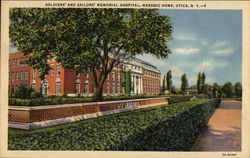 Soldiers' and Sailors' Memorial Hospital, Masonic Home