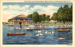 The Casino and Bathing Beach, Bemus Point