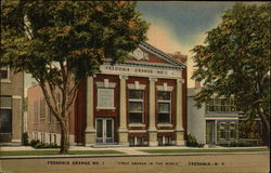 "Fredonia Grange No. 1 ""First Grange in the World"" Postcard"
