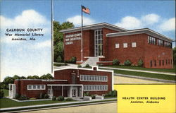 Calhoun County War Memorial Library, Health Center Building