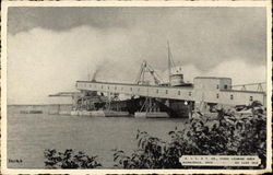K.I.L. & T. Co., Stone Loading Dock Postcard