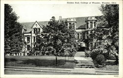 College of Wooster - Holden Hall