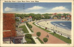 Bird's-Eye View -- Lynn Shore Drive