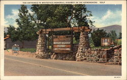The Entrance to Whiteface Memorial Highway