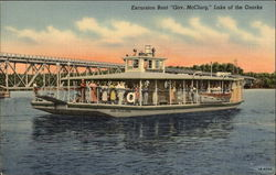 "Excursion Boat ""Gov. McClurg"""