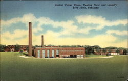 Central Power House, Heating Plant and Laundry