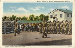 Troops Passing in Review