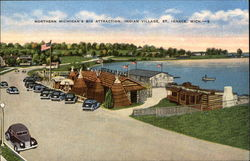 Northern Michigan's Big Attraction, Indian Village