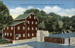 Old Pine Mill, Wild Cat Den State Park