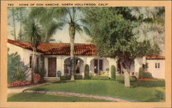 Home of Don Ameche Postcard