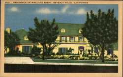 Residence of Wallace Beery
