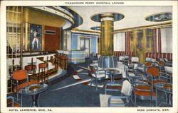 Commodore Perry Cocktail Lounge, Hotel Lawrence